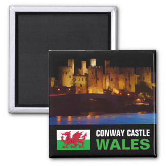 CONWAY CASTLE, WALES MAGNET