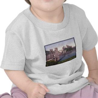 Conway Castle Wales Vintage Photo Tshirt