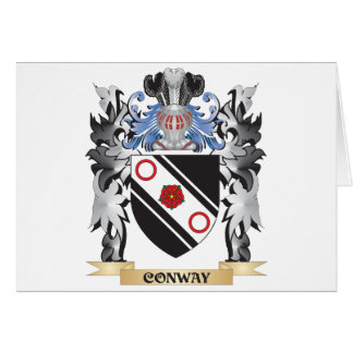 Conway Coat of Arms - Family Crest Greeting Card