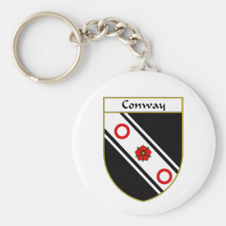 Conway Coat of Arms/Family Crest Key Chain