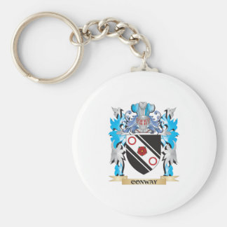 Conway Coat of Arms - Family Crest Keychain