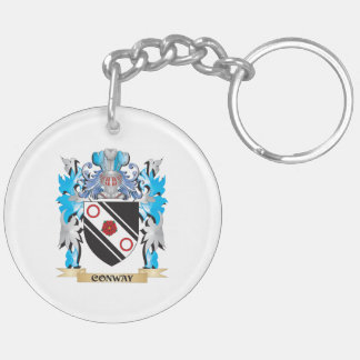 Conway Coat of Arms - Family Crest Acrylic Key Chains