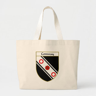 Conway Coat of Arms/Family Crest Large Tote Bag