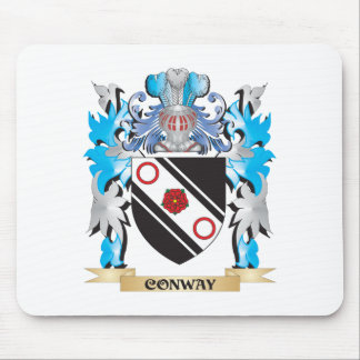 Conway Coat of Arms - Family Crest Mousepads