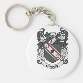 CONWAY Coat of Arms Keychain