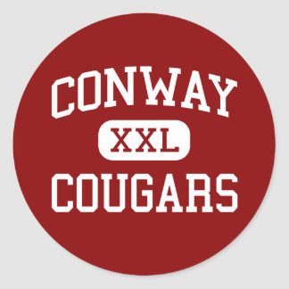 Conway - Cougars - Middle - Louisville Kentucky Stickers