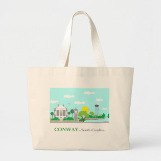 Conway encantador, SC Bolsa Tela Grande