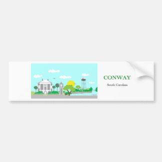 Conway encantador, SC Pegatina Para Auto