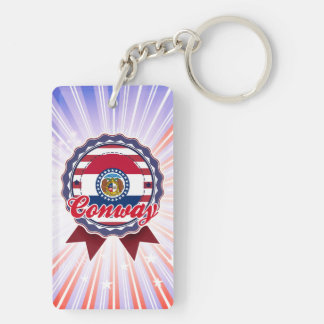 Conway, MO Acrylic Keychains
