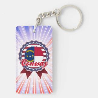 Conway, NC Acrylic Keychain