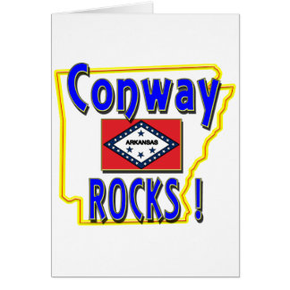 Conway Rocks ! (blue) Card