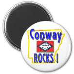 Conway Rocks ! (blue) Magnet