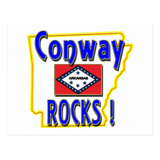 Conway Rocks blue Post Cards