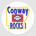 Conway Rocks ! (blue) Stickers