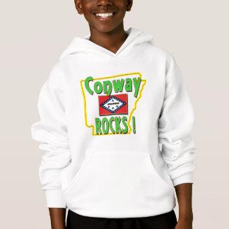 Conway Rocks ! (green) Hoodie