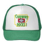 Conway Rocks ! (green) Mesh Hats