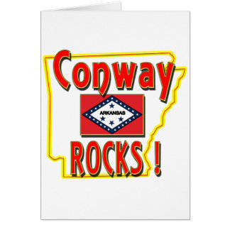 Conway Rocks ! (red) Card