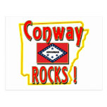 Conway Rocks ! (red) Post Card