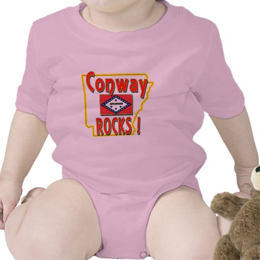Conway Rocks ! (red) T-shirt