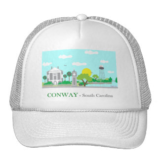 Conway, SC - Charming Trucker Hat