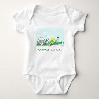 Conway, SC - Cute Baby Bodysuit