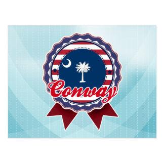 Conway, SC Tarjeta Postal
