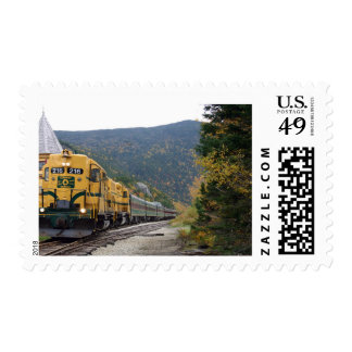 Conway Scenic Railroad - Conway, NH Postage Stamp
