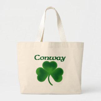 Conway Shamrock Large Tote Bag