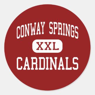 Conway Springs - Cardinals - Conway Springs Sticker