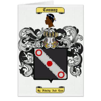 conway tarjeta de felicitación