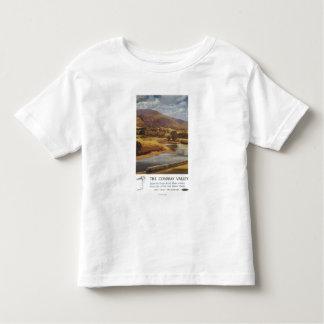 Conway Valley Scene British Railways Poster Toddler T-shirt