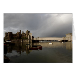 Conwy castle card