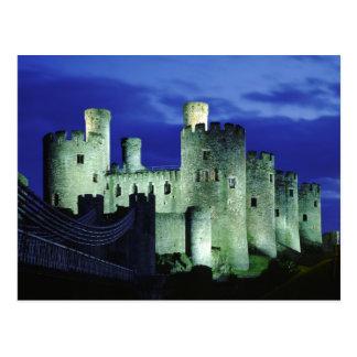 Conwy Castle, Gwynedd, Wales Postcard