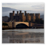 Conwy Castle North Wales Poster