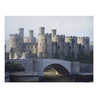 CONWY CASTLE POSTER