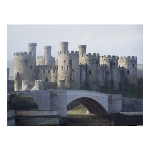 CONWY CASTLE POSTERS