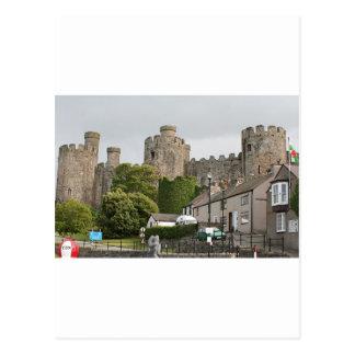 Conwy Castle, Wales, United Kingdom Postcard