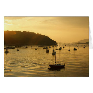 Conwy Estuary Sunset Card