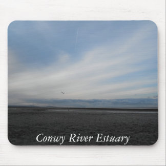 Conwy River Estuary looking at Anglesey Mouse Pad