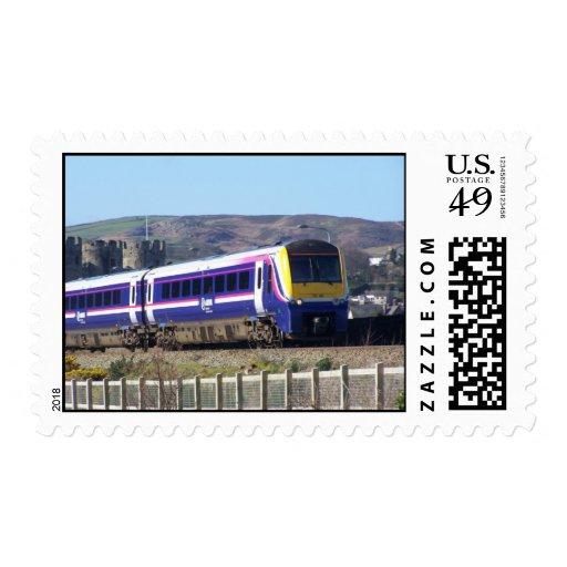 Conwy train postage