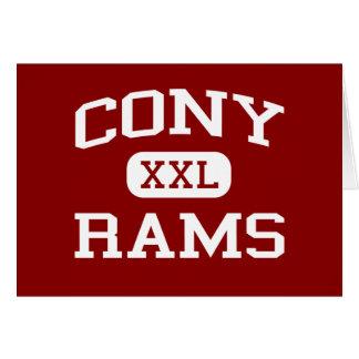 Cony - Rams - Cony High School - Augusta Maine Card
