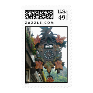 Coo Coo Clock Stamp