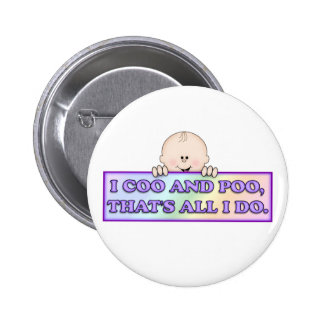 Coo & Poo Buttons