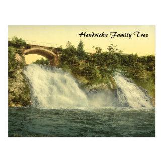 Coo Waterfalls, Spa, Belgium Postcard