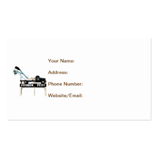 Coober Pedy, Opal Capital of the World Business Card