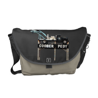Coober Pedy, Opal Capital of the World Courier Bag