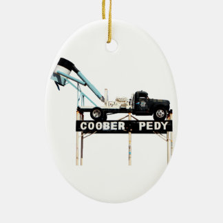 Coober Pedy, Opal Capital of the World Christmas Tree Ornament