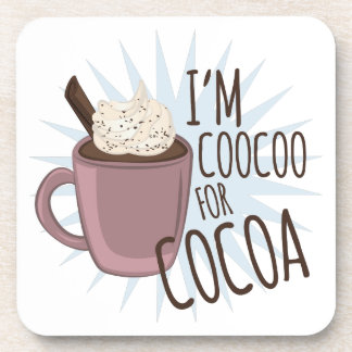 Coocoo For Cocoa Drink Coaster