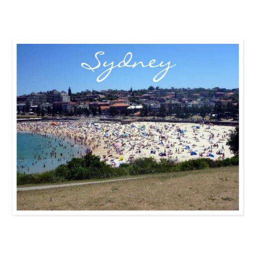 coogee beach sydney post cards