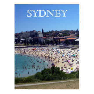 coogee sydney postcard